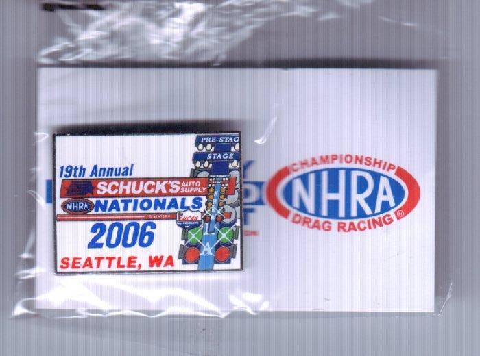 2006 NHRA Event Pin Seattle
