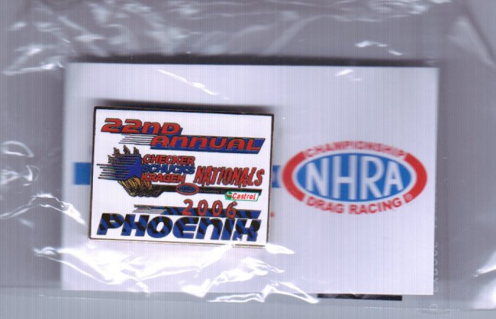 2006 NHRA Event Pin Phoenix