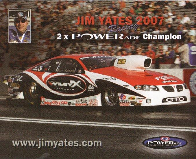 2007 NHRA PS Handout Jim Yates