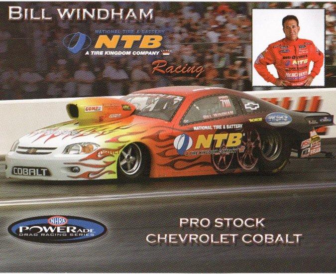 2007 NHRA PS Handout Bill Windham (version #2)