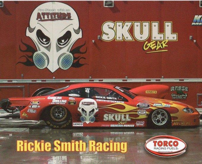 2007 NHRA PS Handout Rickie Smith