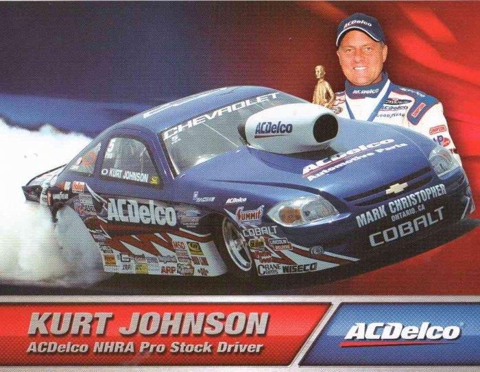 2007 NHRA PS Handout Kurt Johnson