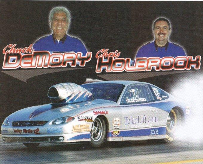 2007 NHRA PS Handout Chuck DeMory