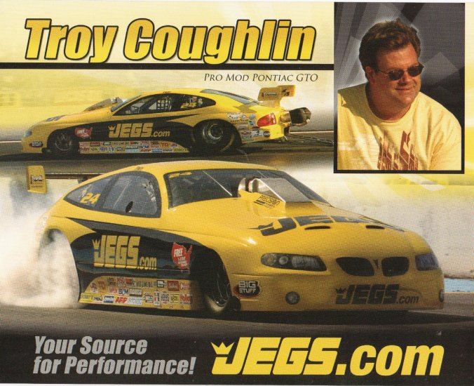 2007 NHRA PM Handout Troy Coughlin