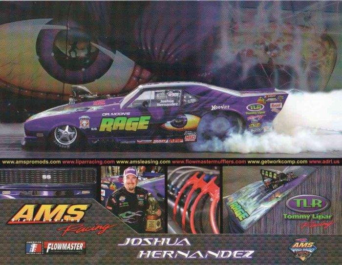 2007 NHRA PM Handout Josh Hernandez