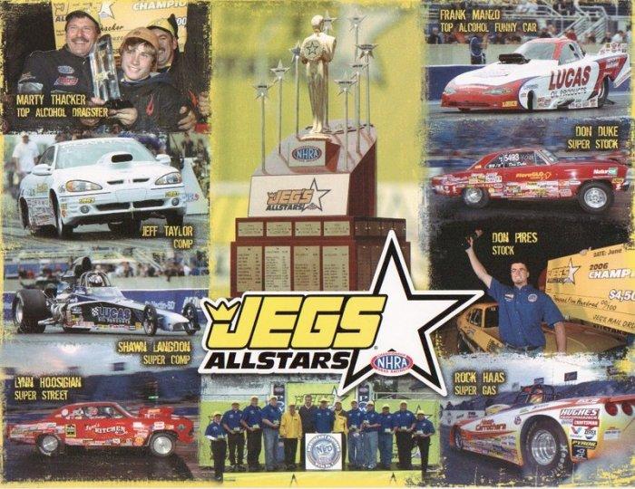 2007 NHRA Sportsman Handout Jeg's All-Stars