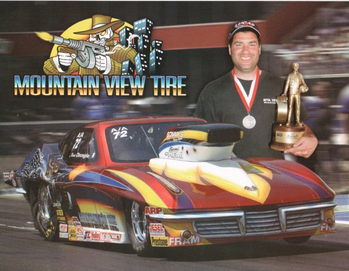 2007 NHRA Sportsman Handout Dave Beckley