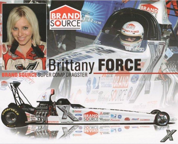 2007 NHRA Sportsman Handout Brittany Force wm