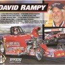 2007 NHRA Sportsman Handout David Rampey