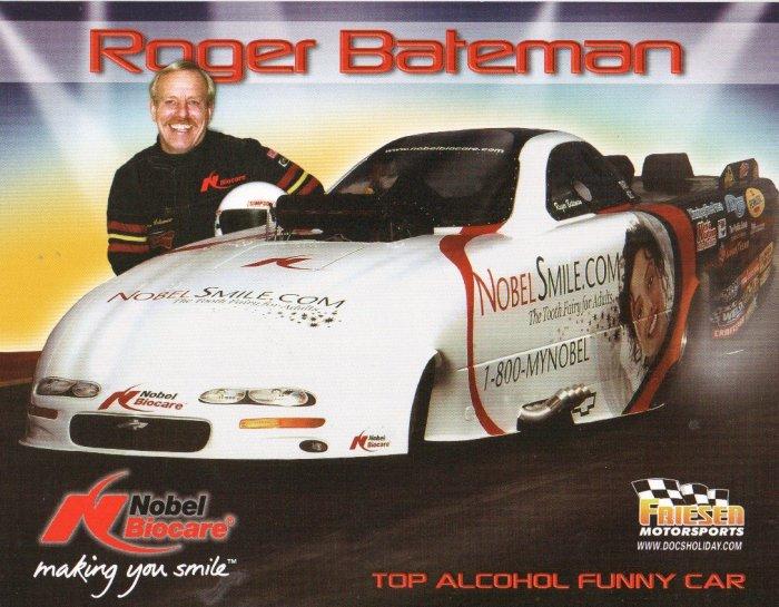 2007 NHRA AFC Handout Roger Bateman
