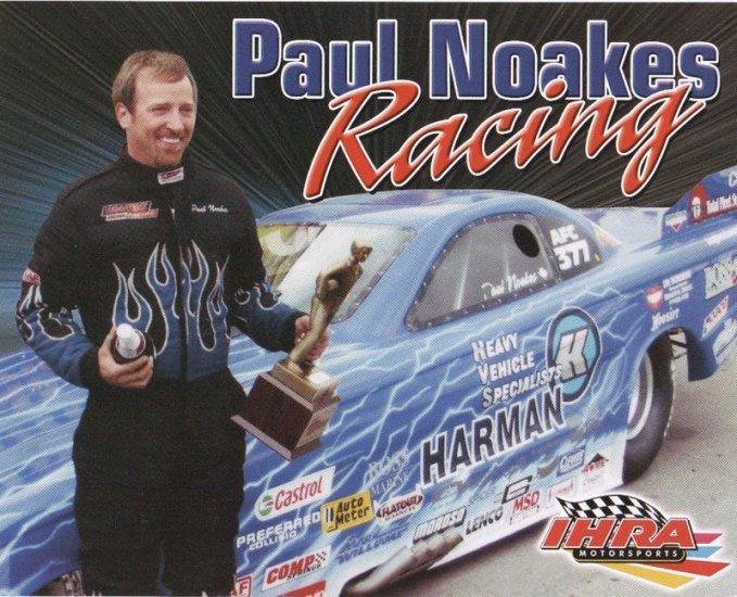 2007 NHRA AFC Handout Paul Noakes