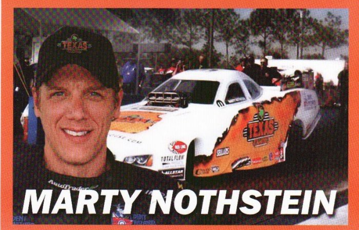 2007 NHRA AFC Handout Marty Nothstein (version #2) Texas Roadhouse