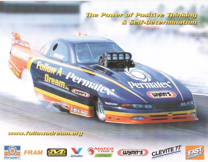 2007 NHRA AFC Handout Dave Ray (version #1)