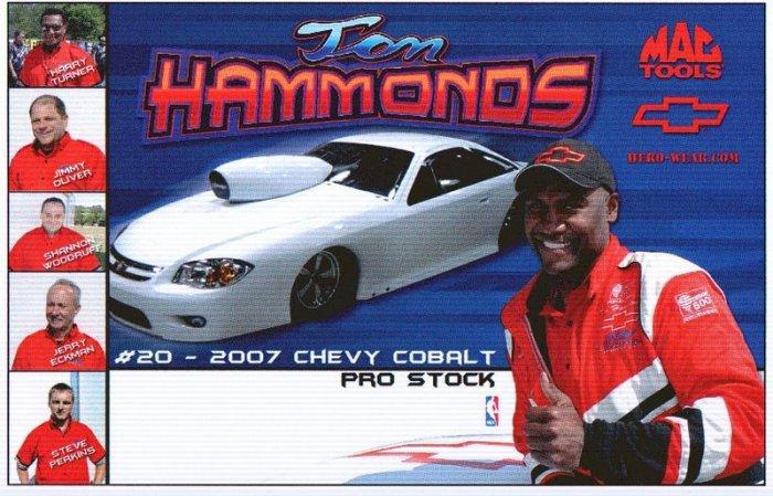 2007 NHRA PS Handout Tom Hammonds (version #7) Crew