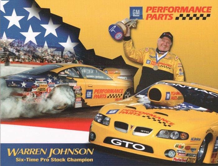 2006 PS Handout Warren Johnson