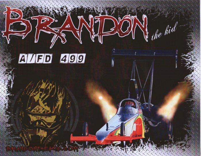 2007 NHRA TAD Handout Brandon Lewis