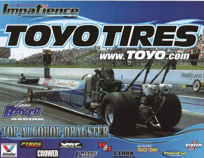 2007 NHRA TAD Handout Thomas Bayer