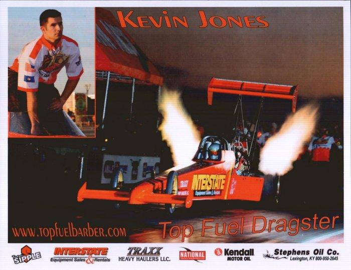 2008 NHRA TF Handout Kevin Jones
