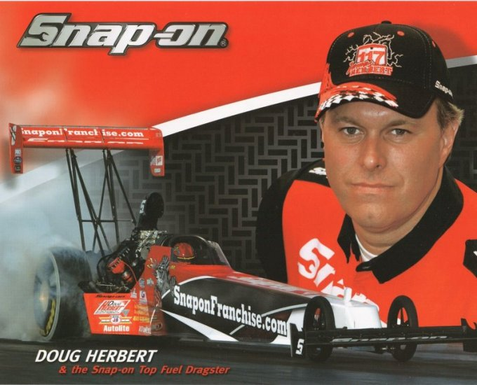 2008 NHRA TF Handout Doug Herbert