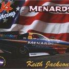 2004 NHRA FC Handout Keith Jackson