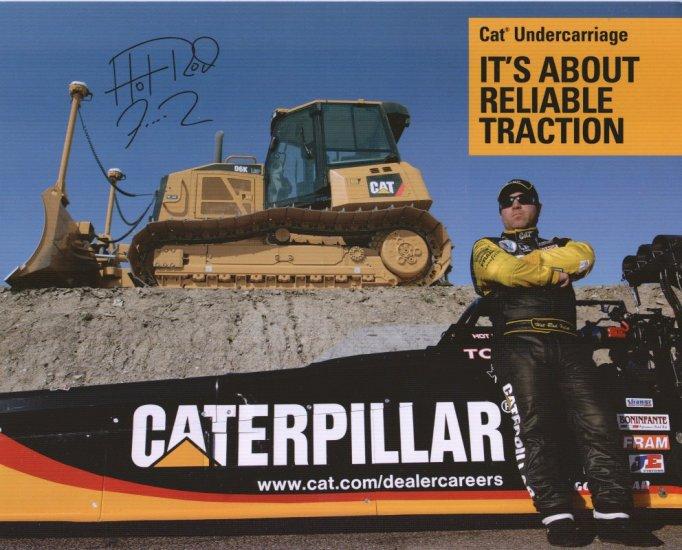 2008 NHRA TF Handout Hot Rod Fuller (Vegas 2)