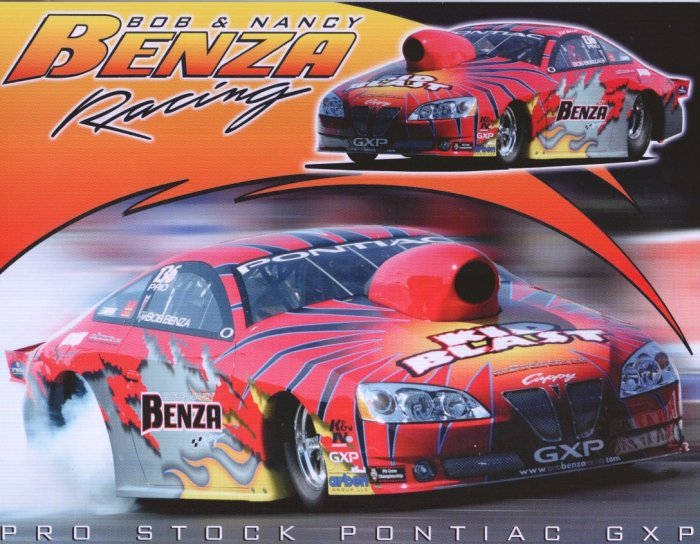 2008 NHRA PS Handout Bob Benza