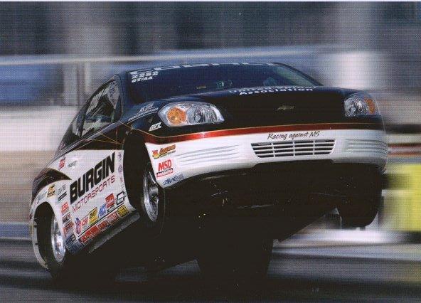 2008 NHRA Top Sportsman Handout Robert Burgin