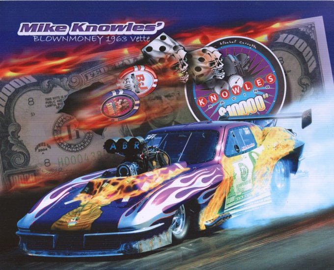2008 NHRA PM Handout Mike Knowles