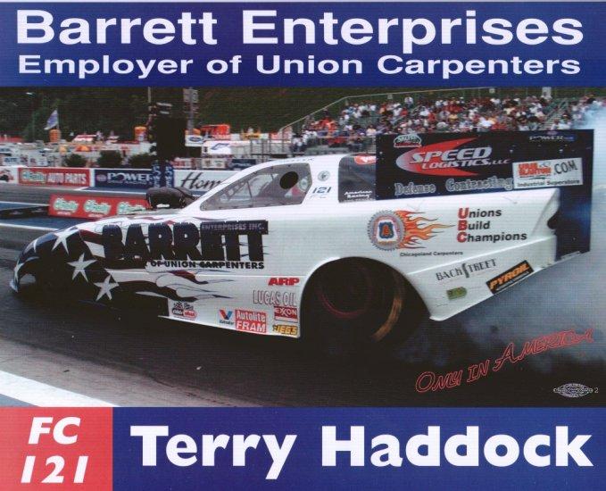 2004 NHRA FC Handout Terry Haddock (version #1)