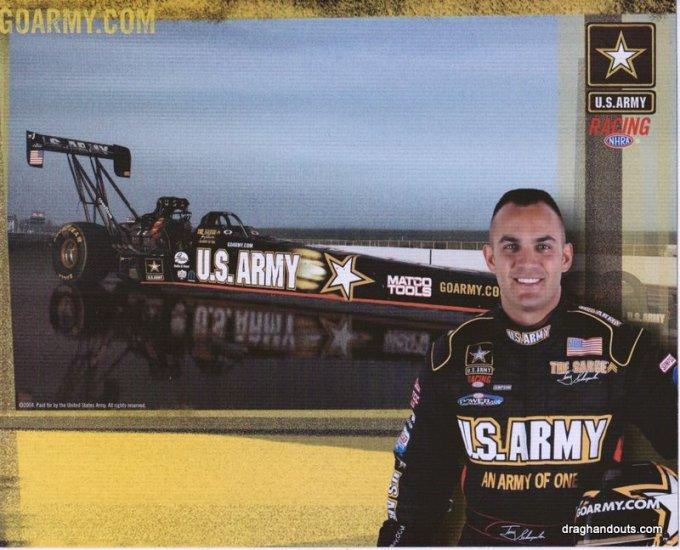 2004 TF Handout Tony Schumacher