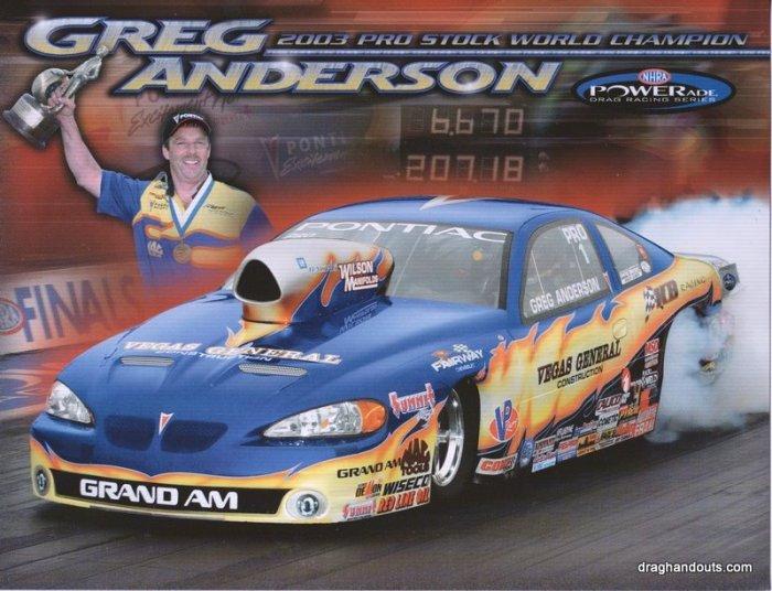 2004 NHRA PS Handout Greg Anderson (version #1)