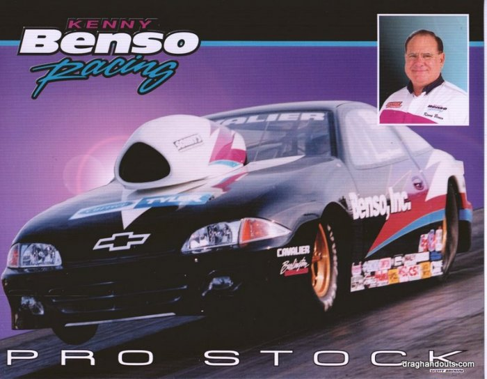 2004 NHRA PS Handout Kenny Benso
