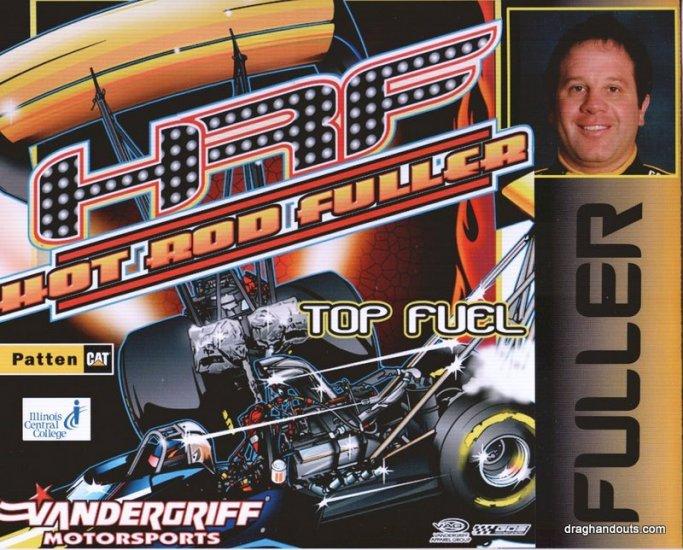 2009 TF Handout Fuller Hot Rod Fuller (version #2) Norwalk
