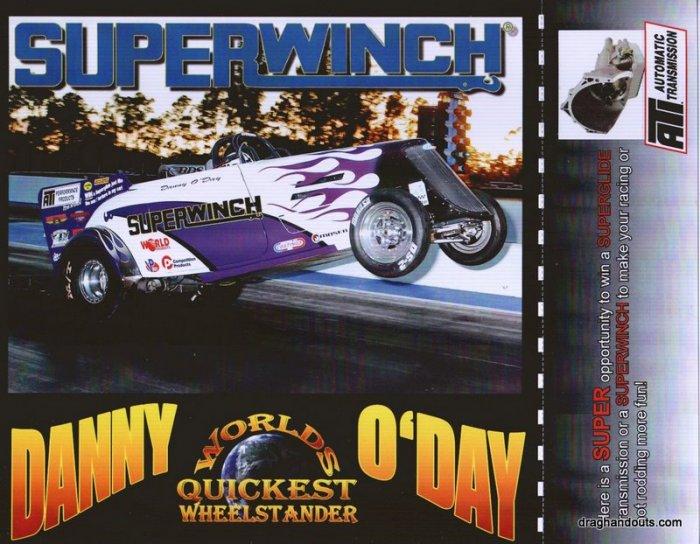 2009 Wheelstander Handout Danny O'Day