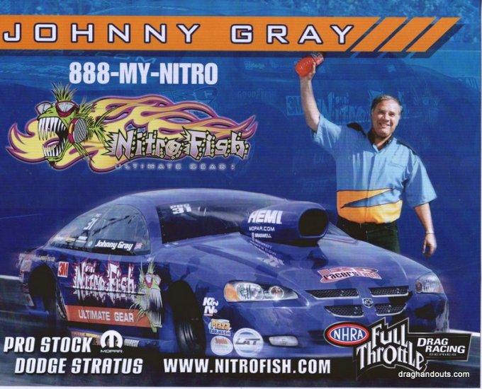 2009 PS Handout Johnny Gray