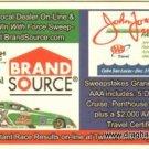 2009 FC Handout John Force Refrigerator Magnet