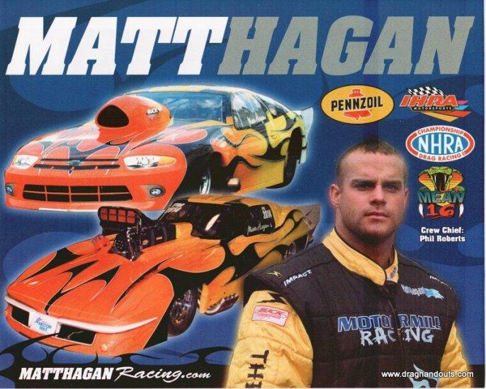 2006 PM Handout Matt Hagan (version #2)