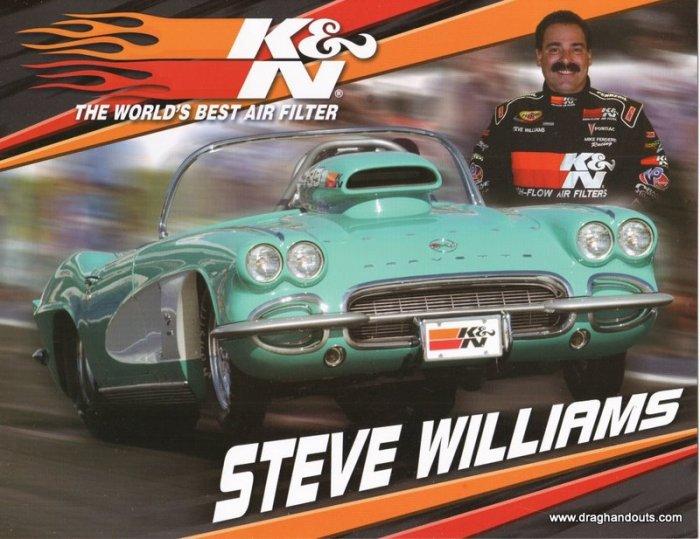 2006 Sportsman Handout Steve Williams SG
