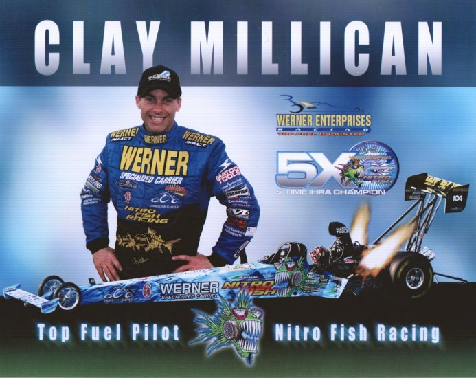 2006 NHRA TF Handout Clay Millican (version #2)