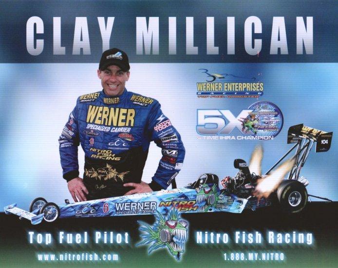 2006 NHRA TF Handout Clay Millican (version #3)