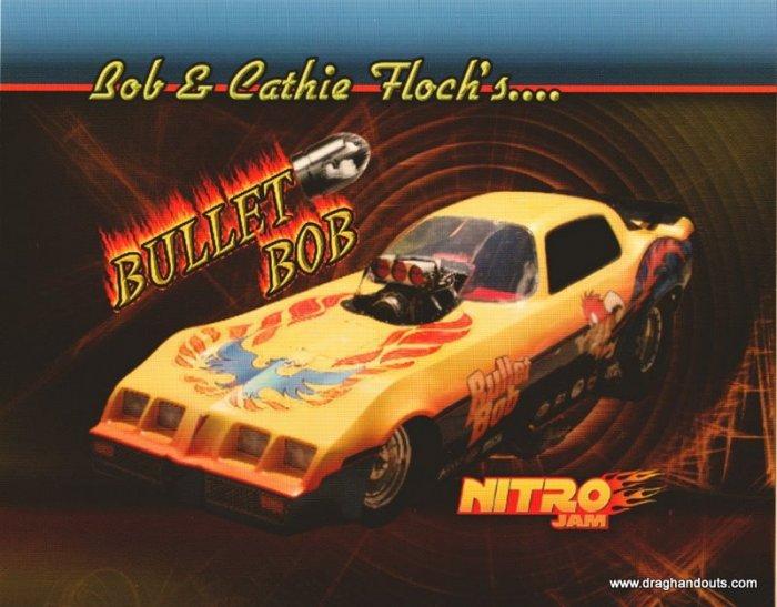 """2010 NFC Handout """"Bullet Bob"""" Firebird"""