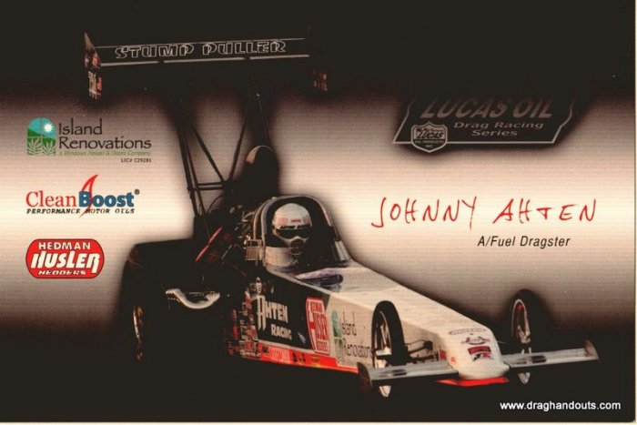 2010 TAD Handout Johnny Ahten