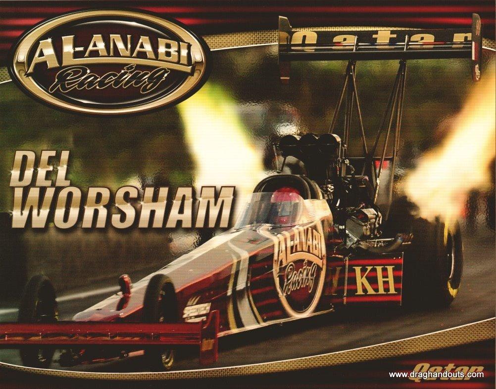 2011 NHRA TF Handout Del Worsham (version #1)