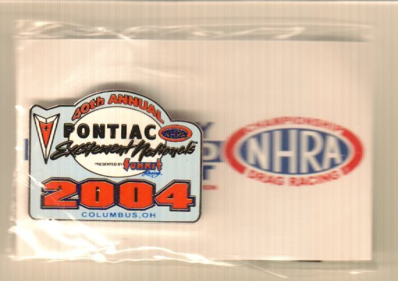 2004 NHRA Event Pin Columbus