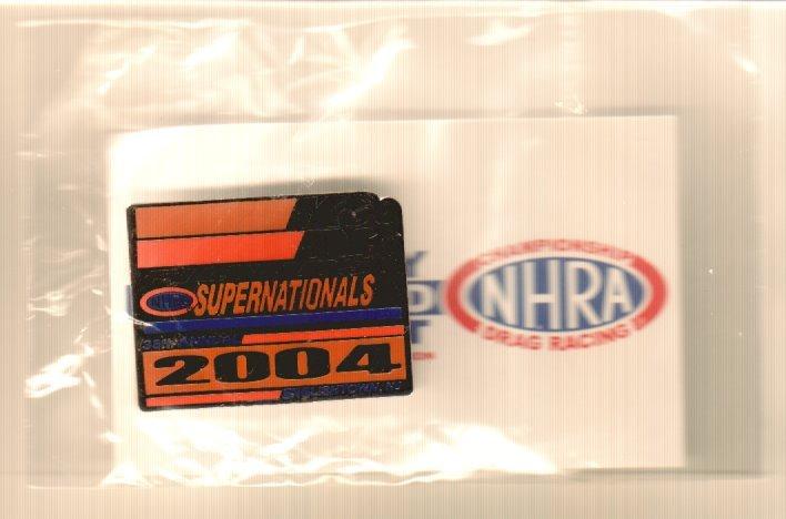 2004 NHRA Event Pin Englishtown