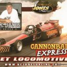 2011 NHRA Jet  Dragster Handout Cannonball Express