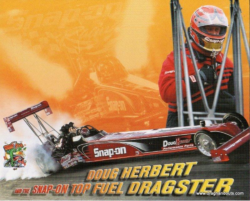 2003 NHRA TF Handout Doug Herbert