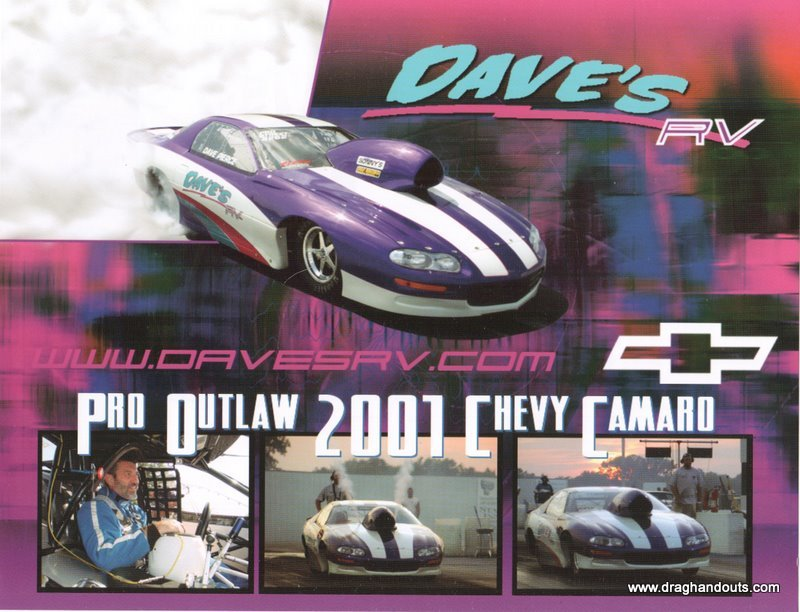 2005 NHRA PM Handout Dave Pierce