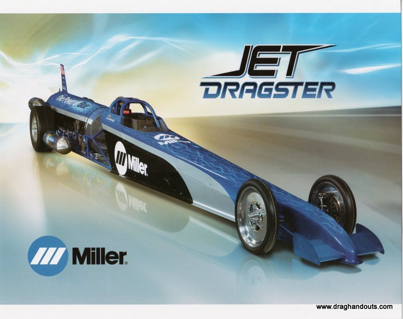 2011 NHRA Jet  Dragster Handout Elaine Larsen (version #2)