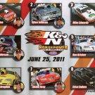 2011 NHRA PS Handout K&N Horsepower Challenge